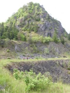Im Basaltbruch am Hohenstoffeln