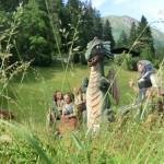 Holzschnitzereien in Elbigenalp