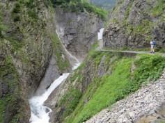 """Der Weg zum """"Simmswasserfall"""""""