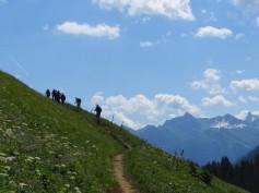 Auf dem Höhenweg nach Lechleiten